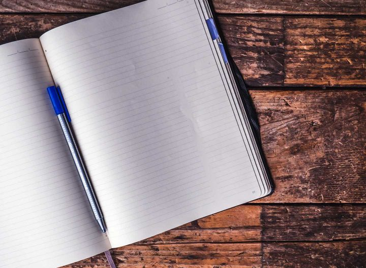 Um caderno vazio - Photo by Jessica Lewis from Pexels